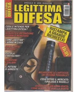 Armi Magazine Speciale - Legittima difesa - riedizione - bimestrale - 5 luglio 2018