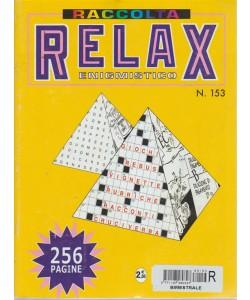 Raccolta Relax enigmistico - n. 153 - bimestrale - aprile - maggio 2017 - 256 pagine
