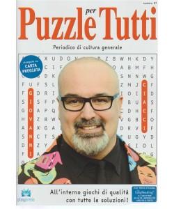Puzzle X Tutti - n. 97 - bimestrale - 4/7/2018 - Periodico di cultura generale
