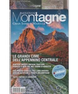 Meridiani Montagne - Gran Sasso E Majella - n. 93 - luglio 2018 - bimestrale -