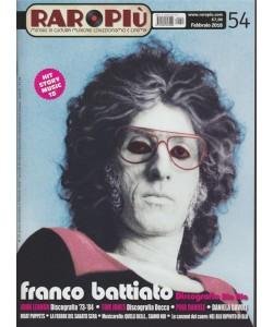 Raropiù - mensile n. 54 Febbraio 2018 Franco Battiato: discografia Bla bla