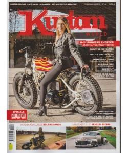 Kustom World - bimestrale n. 46 Febbraio 2018 - Moto beach classic Roland Sands