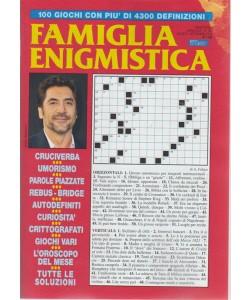 Famiglia Enigmistica - n. 190 - bimestrale - agosto - settembre 2018 -