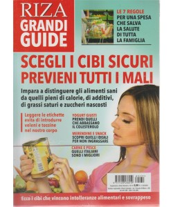 Riza grandi guide - supplemento a Salute naturale n. 231 - 11/7/2018