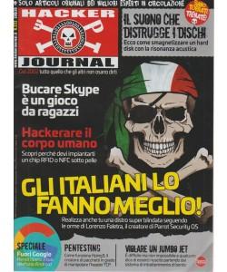 Hacker journal n. 222 - mensile - luglio 2018