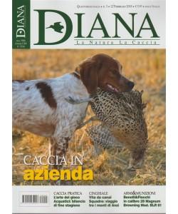 Diana: La Natura La Caccia quattordicinale n.3-12 Febbraio 2018Caccia in azienda