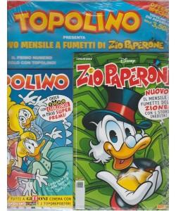 Supertopolino - +Zio Paperone N. 1 - topolino n. 3269 - luglio 2018 - settimanale