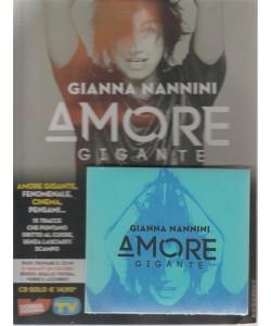 Cd Sorrisi Speciale - Gianna Nannini - Amore gigante - n. 17 - settimanale - luglio 2018