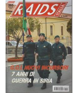 Raids Italia - mensile n. 365 Febbraio 2018 -