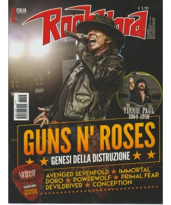 Rockhard Italia - Luglio-Agosto 2018 - n. 48 - mensile