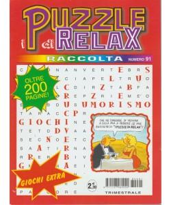 Raccolta I puzzle di realx - n. 91 - trimestrale - luglio - settembre 2018  - oltre 200 pagine!