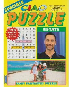 Speciale ciao puzzle - n. 78 - trimestrale - agosto - ottobre 2018 - estate - 196 pagine