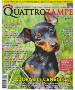 Quattro Zampe - n. 129 - mensile - agosto 2018 -