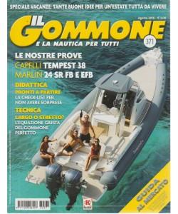 Il Gommone  e la nautica per tutti - n. 371 - agosto 2018 - mensile