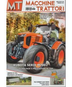 MT Macchine Trattori - mensile n. 180 Febbraio 2018 Kubota serie M7002 al top