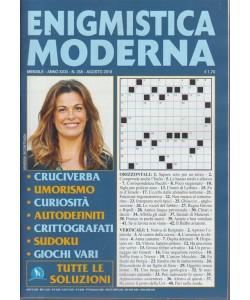 Enigmistica Moderna - n. 358 - mensile - agosto 2018 -