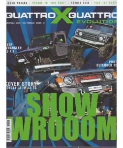 Quattroxquattro X Evolution - bimestrale n. 18 Febbraio 2018 Show Wrooom