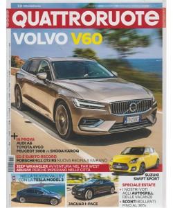 Quattroruote - n. 756 - agosto 2018 - mensile