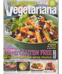 Cucina Vegetariana - bimestrale n. 90 Agosto 2018 - 40 ricette originali