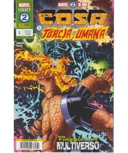 Fantastici Quattro - Marvel 2-In-Uno N.2 - mensile - 2 agosto 2018 - La cosa e la torcia umana