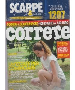 Correre + Scarpe &sport n. 406 - agosto 2018 - 408 pagine