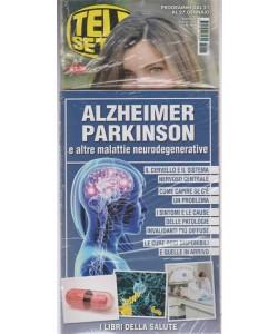 Telesette -settimanale pocket n.4 - 16 gennaio 2018  + book: Alzheimer Parkinson