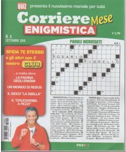 Corriere Enigmistica Mese - n. 4 - settembre 2018 - mensile