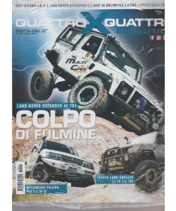 Quattroxquattro X Evolution - n. 21 - bimestrale - agosto - settembre 2018 -