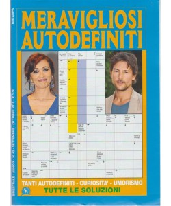 Meravigliosi  Autodefiniti - n. 42 - bimestrale - settembre - ottobre 2018