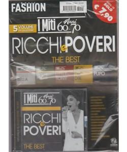 Music fashion - I miti anni 60 - 70  - I ricchi e poveri  the best - 5 volumi da collezione