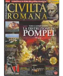 Civiltà romana - n. 1 - bimestrale - agosto - settembre 2018 -