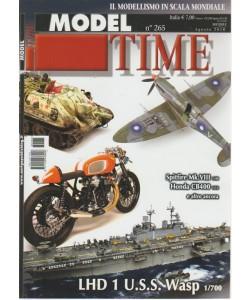 Model time - n. 265 - mensile - agosto 2018 -