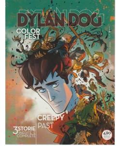 Dylan Dog Color Fest - Creepy Past - n. 26 - 9 agosto 2018 - trimestrale