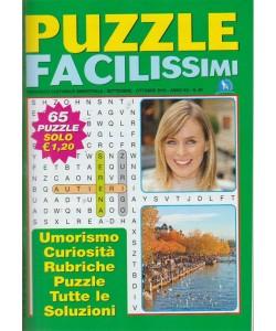 Puzzle Facilissimi - n. 69 - bimestrale - settembre - ottobre 2018 - 65 puzzle