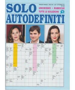 Solo Autodefiniti - n. 269 - mensile - settembre 2018 -