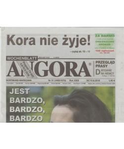 Angora - settimanale in lingua polacca n. 31 - 30 Luglio 2018