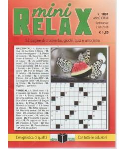 Mini Relax - n. 1891 - settimanale - 21/8/2018 -