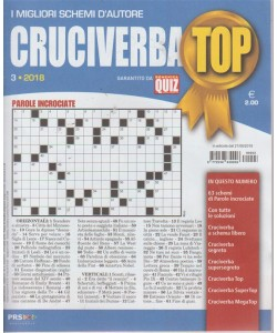 Cruciverba Top - n. 3 - agosto 2018 - trimestrale
