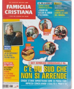 Famiglia Cristiana -n. 33 - 19 agosto 2018 - settimanale
