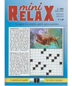 Mini Relax - n. 1892 - settimanale - 28/8/2018