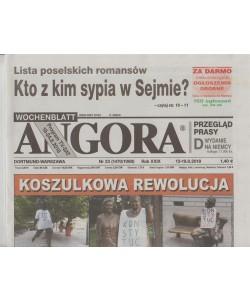 Angora - settimanale in lingua polacca n. 33 - 13 Agosto 2018