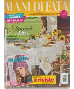 Mani Di Fata - Settembre 2018 - mensile -  n. 9 - + Speciale maglia donna - 2 riviste