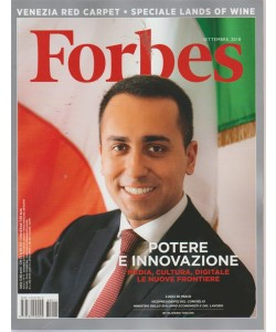 Forbes - n. 11 - settembre 2018 - mensile
