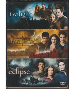 DVD  - Twilight Saga - la trilogia: Twilight - New moon - eclipse
