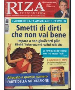 Riza Psicosomatica - n. 451 - mensile - settembre 2018 - +L'arte della meditazione