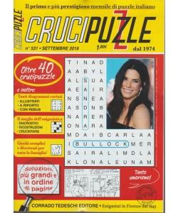 Crucipuzzle - n. 531 - settembre 2018 - mensile