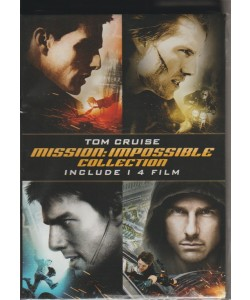 I Dvd Collection di Panorama - n. 11 - settimanale - settembre 2018  - Mission : impossible collection - con Tom Cruise - 4 film
