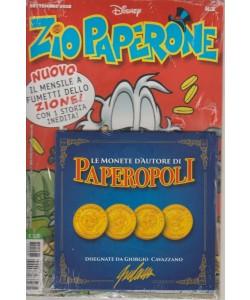 Zio Paperone - settembre 2018 - n. 3 - mensile + Le monete d'autore di Paperopoli