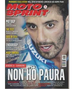Motosprint - n. 36 - settembre 2018 - settimanale