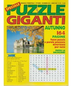 Speciale Puzzle Giganti - n. 93 - trimestrale - ottobre - dicembre - 2018 - 164 pagine - autunno